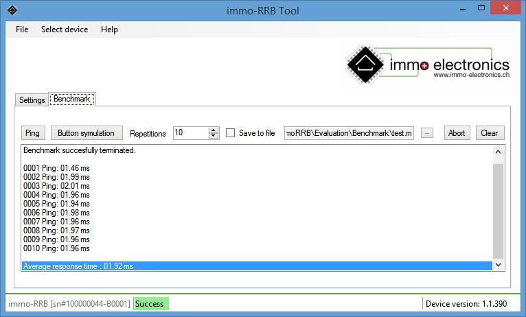 immo-RRB Tool Benchmark